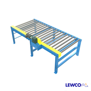 "Model CDLR2511 chain driven live roller conveyor is the workhorse of heavy duty handling and is an excellent choice in severe service duty applications. It's rugged construction with 2-1/2"" diameter rollers is well suited for loaded pallets, drums, and containers."