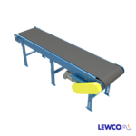 Model HDSB is a heavy duty slider bed belt conveyor with box style smooth side bed section. Due to the heavy bed section, it is often used in industrial applications such as automotive, appliance, stamping and assembly applications.