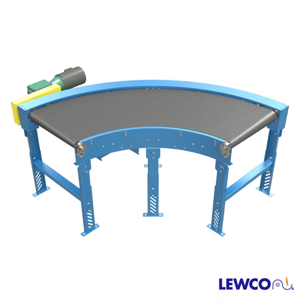 MDBC - curve ideal belt conveyor