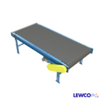 Model MDCSW is a medium duty wide series, channel frame slider bed belt conveyor. This conveyor is designed for wider belts than any of our other belt conveyor models.