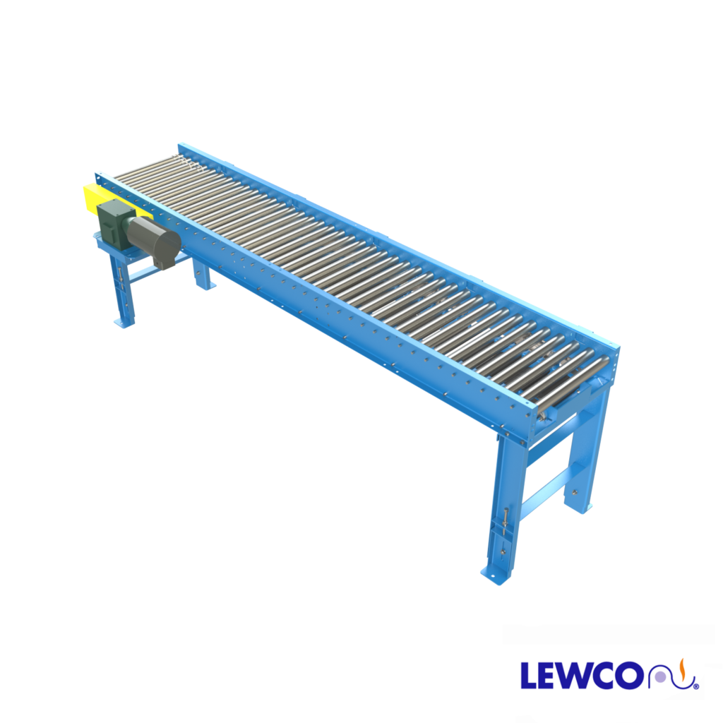 Model ZPLR19 is a medium duty, zero pressure accumulation conveyor which can provide accumulation of light to medium weight loads with no back pressure. These units come equipped with zone control logic with easy set-up for cascade or slug release modes .