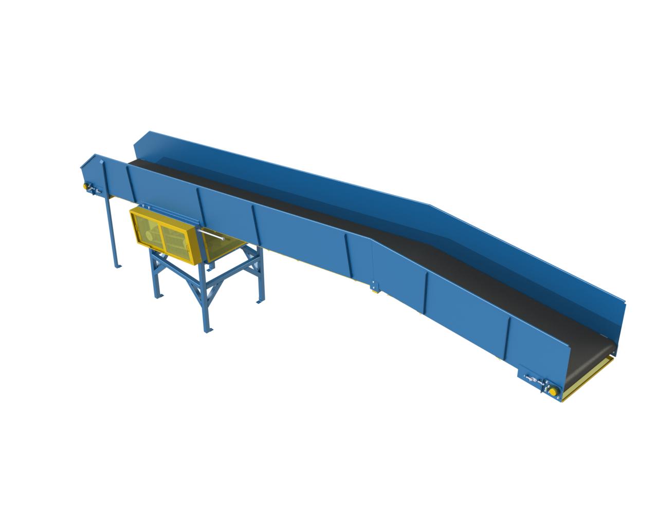 LEWCO Parcel Handling Belt Conveyor