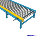 Chain Driven Live Roller Conveyor with Live Axle Roller on Discharge End