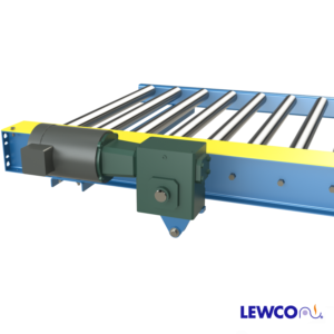 Chain Driven Live Roller Conveyor with Direct Drive Roller Mounted Speed Reducer
