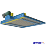 Chain Driven Live Roller Conveyor with Flush Bottom Frame