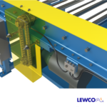 Chain Driven Live Roller Conveyor with Remote Lubrication System