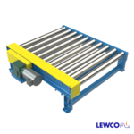 Chain Driven Live Roller Conveyor with Side Mounted Drive