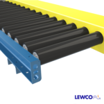 Chain Driven Live Roller Conveyor with Ultrex Sleeves