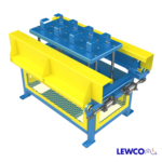 Drag Chain Conveyor with Lift and Clamp Device Between Strands