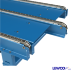 Drag Chain Conveyor with Staggered Strand Ends