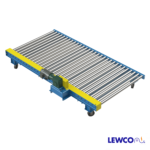 Manual Rotating Chain Driven Live Roller Conveyor