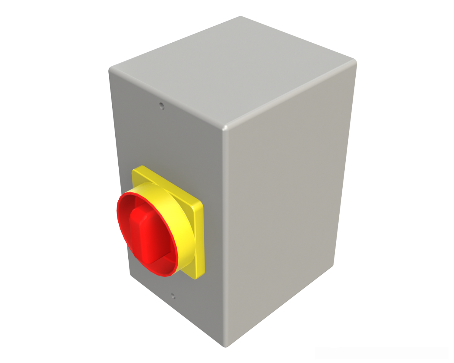 The Motor Disconnect provides a lock out point at the motor, and a convenient access point for wiring during installation. This should not be used to start and stop the motor. It is not for use as overload protection.