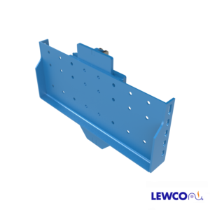 Model PUBS1 pop up blade stop can be used to hold product on a gravity conveyor line prior to a work area. It can also be used with an RB or RBB roller brake as part of an escapement mechanism.
