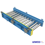 Single Strand Chain Driven Roller with 1.9 Diameter Rollers and 24 Volt Controlled Zones