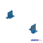 SPL model medium duty, stationary, low profile supports are easily adjusted and anchored. These supports are ideal for applications that require the conveyor to sit low to the floor.