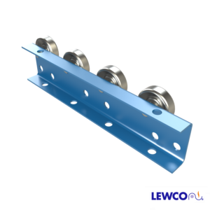 Wheel Rail Conveyors provide an economical means of conveying products in flow racks and other gravity applications. WRC is medium duty rail that can be utilized as a tote, box, or carton rail.
